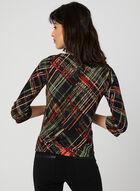 Haut en jersey à imprimé abstrait, Multi, hi-res