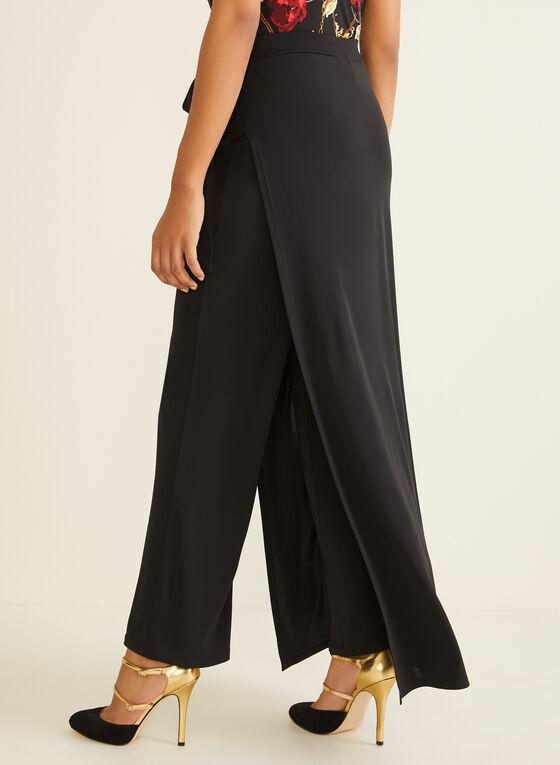 Jupe-culotte longueur maxi , Noir