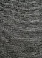 Foulard à bordure métallisée, Noir