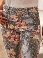 Charlie B - Floral Print Pants, Multi
