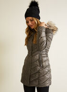 Laundry - Quilted Vegan Down Coat, Grey