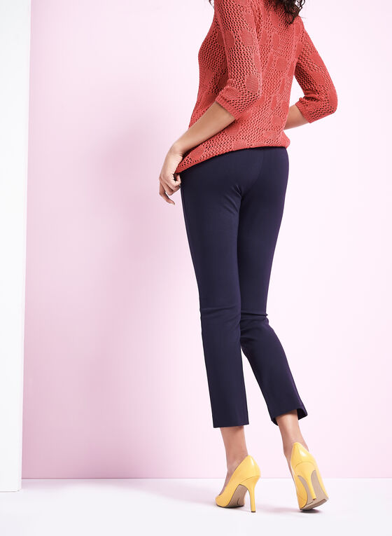how to wear ponte knit pants