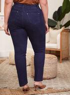 Slim Leg Pull-On Jeans, Blue