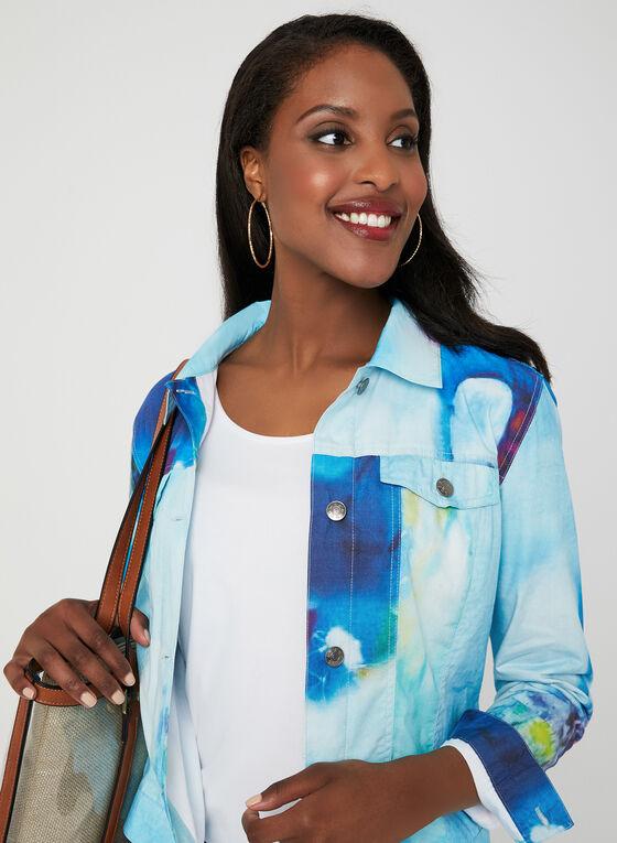 Carré Noir - Watercolour Jacket, Blue