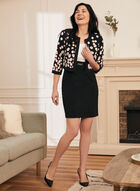 Dress & Polka Dot Cardigan, Black
