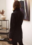 Softshell Anorak Coat, Black