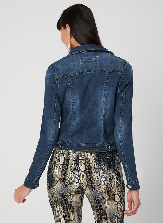Blossom - Jean Jacket, Blue, hi-res
