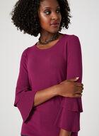 Elena Wang - Bell Sleeve Sweater, Pink, hi-res