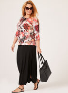 Jupe maxi pull-on, Noir, hi-res