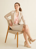 Stretchy Pencil Skirt, Off White