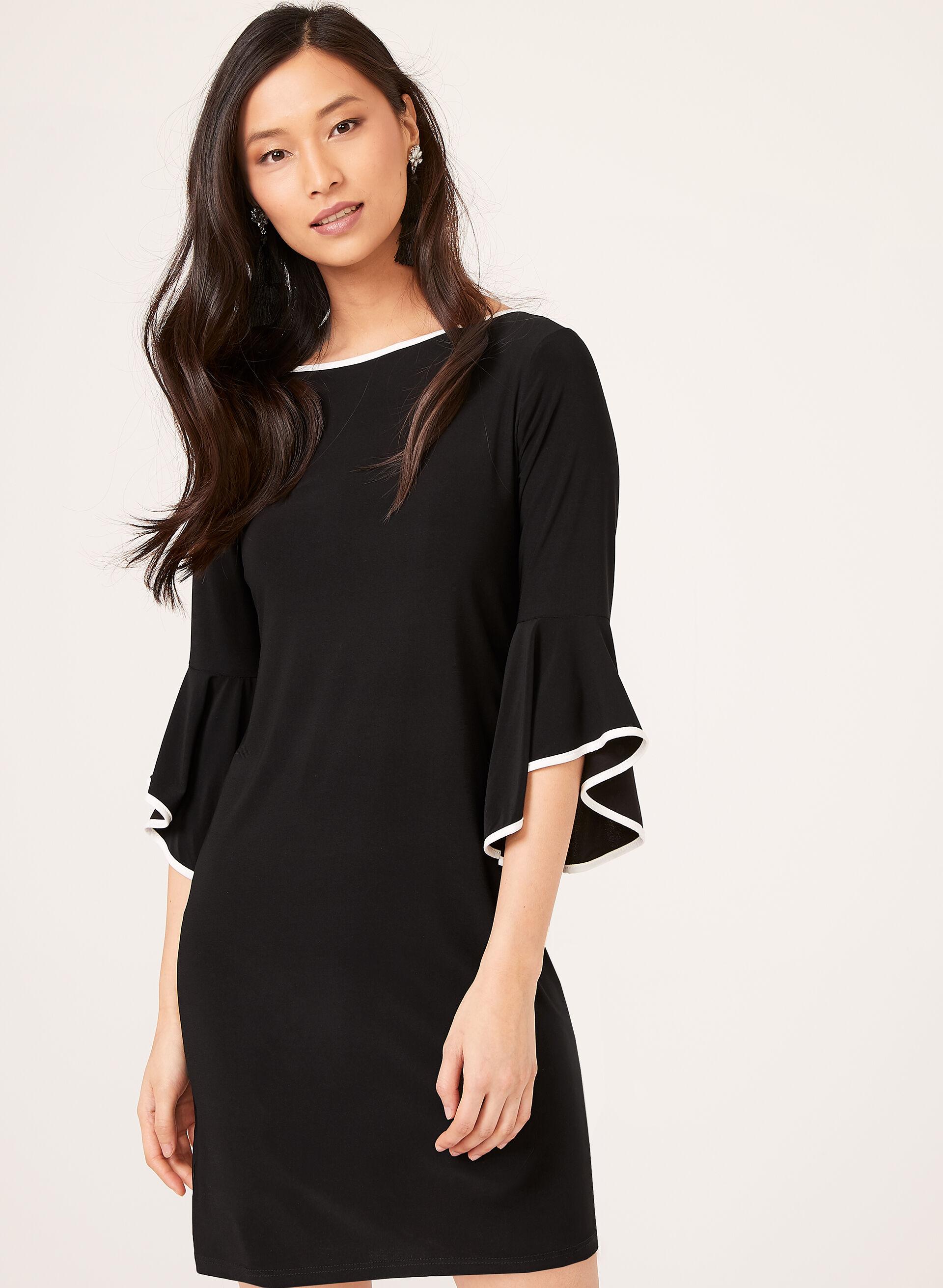Robe noire petite taille