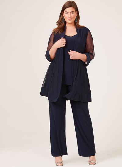 2-Piece Jersey Pantsuit