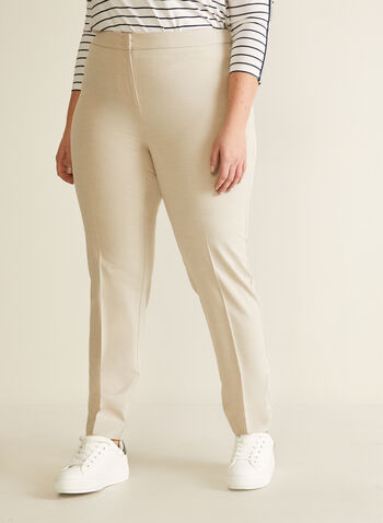 City Fit Straight Leg Pants, Off White,  pants, tailored pants, city fit, mid-rise pants, straight leg, comfortable, spring 2020, summer 2020