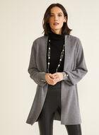 Long Sleeve Open Cardigan, Grey