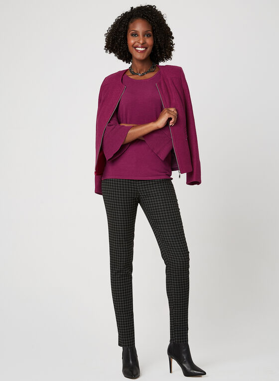 Elena Wang - Bell Sleeve Sweater, Pink, hi-res