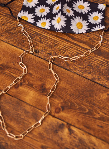 Chain For Mask And Glasses, Silver,  Spring summer 2021, accessories, accessory, chain, link, links, carabiner clasp, metal,
