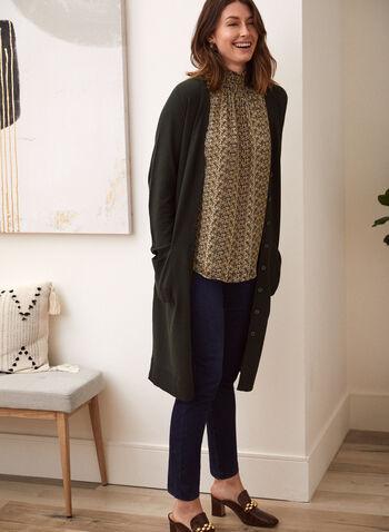 Sleeveless Snake Print Top, Black,  fall winter 2021, tops, no sleeves, animal print, turtle neck, mock neck, smock neck,