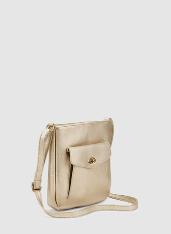 Crossbody Bag, Gold, hi-res