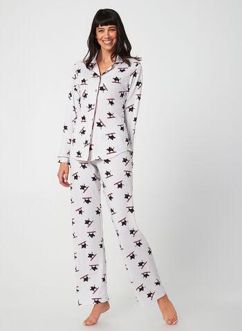 Midnight Maddie - Ensemble pyjama, Gris,  automne hiver 2019, pyjama, ensemble pyjama, Midnight Maddie