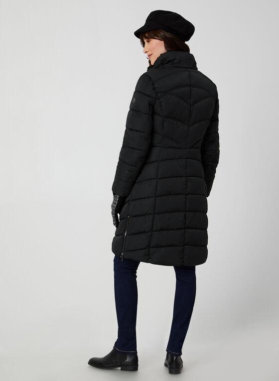 Bernardo - Manteau matelassé à capuchon, Noir