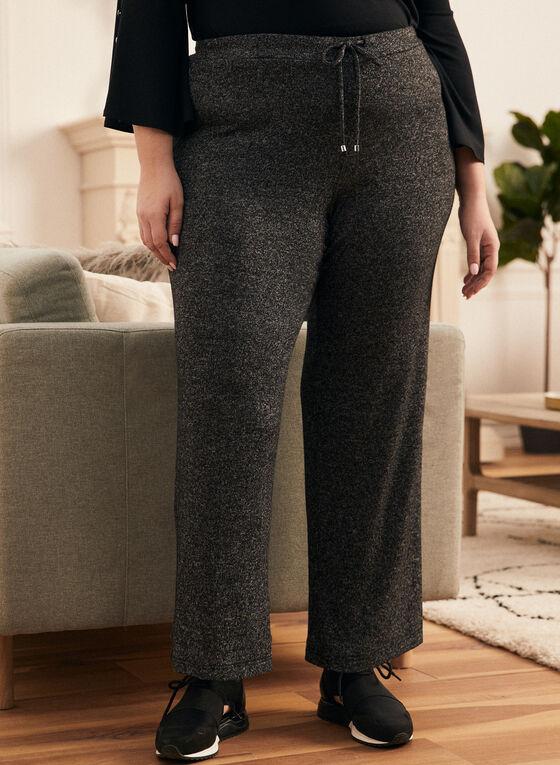 Straight Leg Jogger Pants, Grey