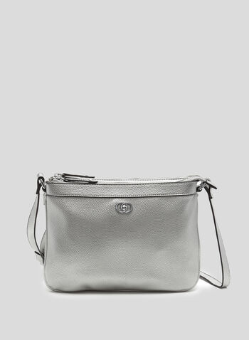 Double Zip Crossbody Bag, , hi-res