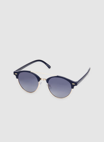 Wire Frame Sunglasses, Blue, hi-res