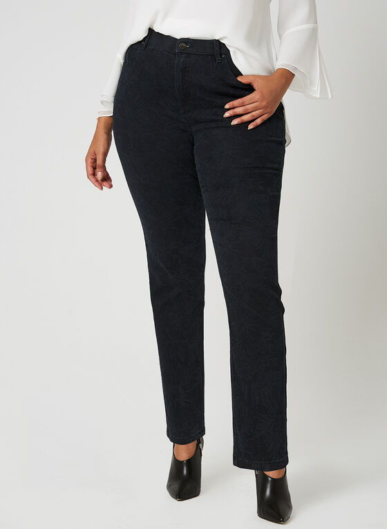 Simon Chang - Signature Fit Jeans, Blue, hi-res