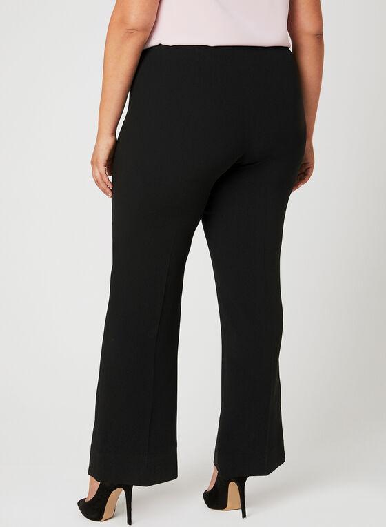 Louben - Signature Fit Wide Leg Pants, Black, hi-res
