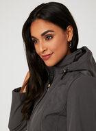 Anne Klein - Softshell Hooded Transition Coat, Grey, hi-res