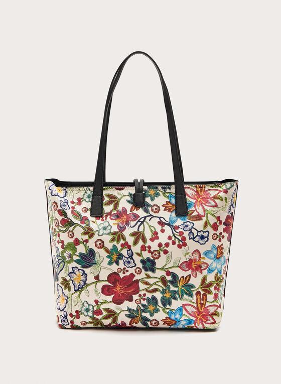 Sac fourre-tout motif floral, Multi, hi-res