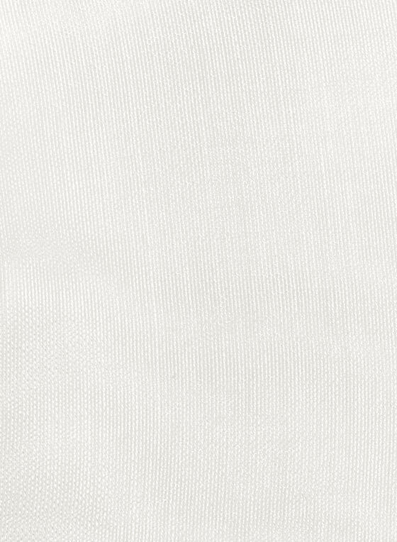 Foulard à franges, Blanc, hi-res