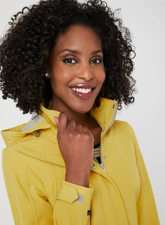 Novelti - Softshell Raincoat, Yellow