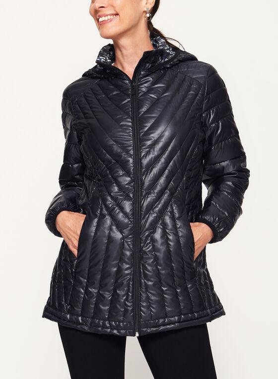 Nuage - Manteau matelassé en duvet compressible , Noir, hi-res