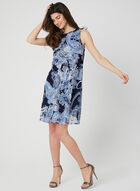 Jessica Howard - Robe à imprimé cachemire, Bleu, hi-res