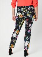Joseph Ribkoff - Pantalon coupe moderne fleuri, Noir, hi-res