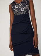Short Evening Dresses, Blue, hi-res