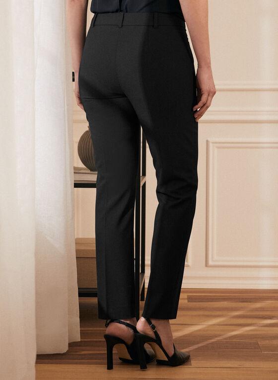 Modern Fit Straight Leg Pants, Black