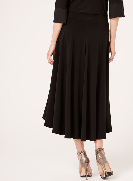 Pull-On Jersey Skirt, Black, hi-res