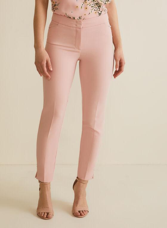 City Fit Straight Leg Pants, Pink