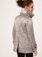 Novelti - Lightweight Waterproof Reflective Coat, Brown, hi-res