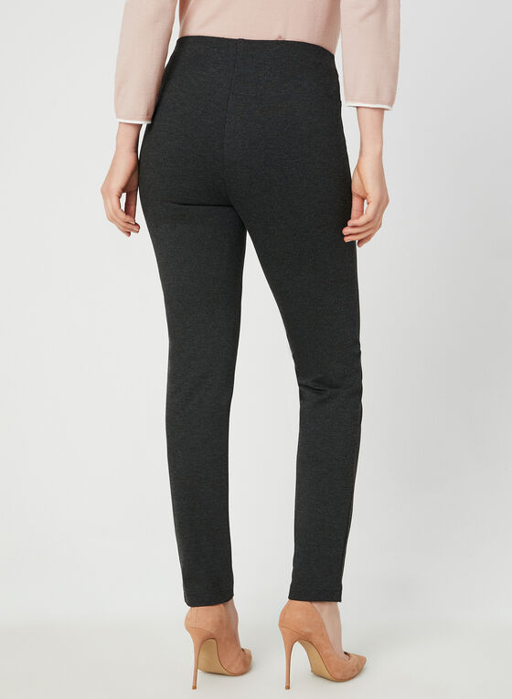 Pantalon pull-on coupe cité , Gris