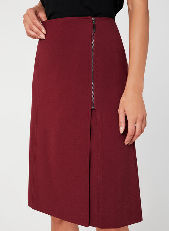 A-Line Skirt, Red