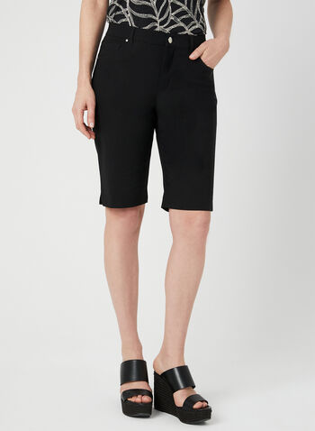 Simon Chang - Signature Fit Shorts, Black, hi-res,  Simon Chang, walking shorts, micro twill, Signature Fit, spring 2019