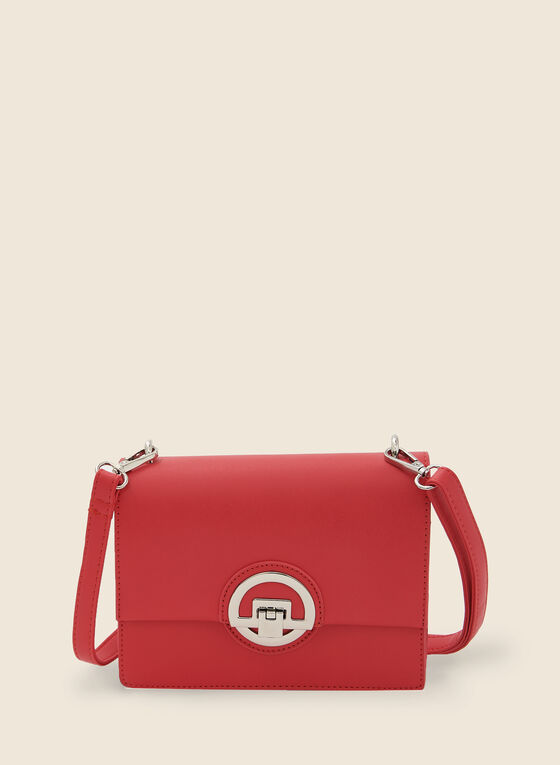 Rectangular Crossbody Bag, Orange