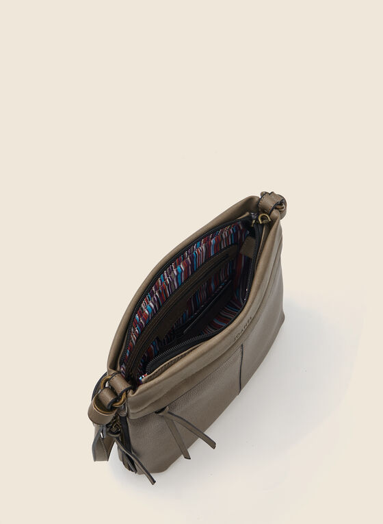 Joanel - Square Crossbody Bag, Grey