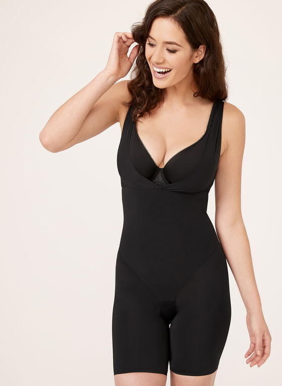 Secret Slimmers - Firm Control Body Shaper, Black