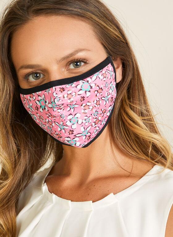 Bright Safe Care - Spring Flowers Print Mask, Pink