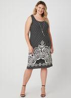 Jersey Dress & Top Set, Black, hi-res