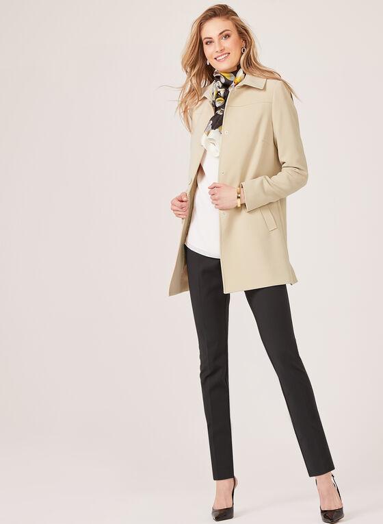 Nuage - Manteau mi-long style redingote, Brun, hi-res